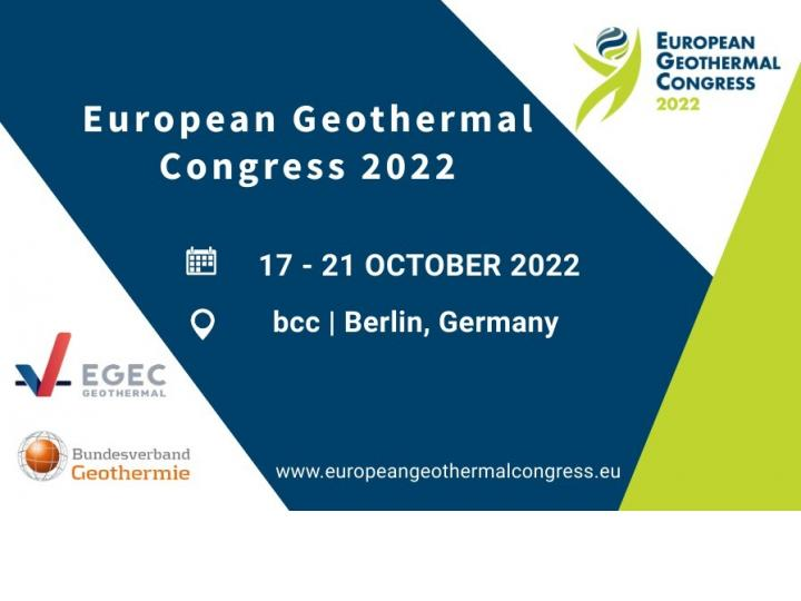 European Geothermal Congress 2022 - Banner