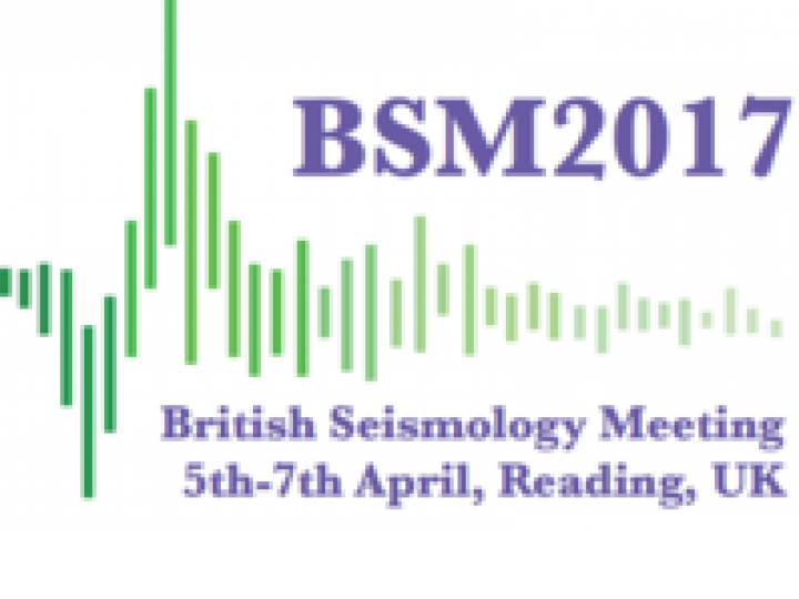 British Seismology Meeting 2017 logo