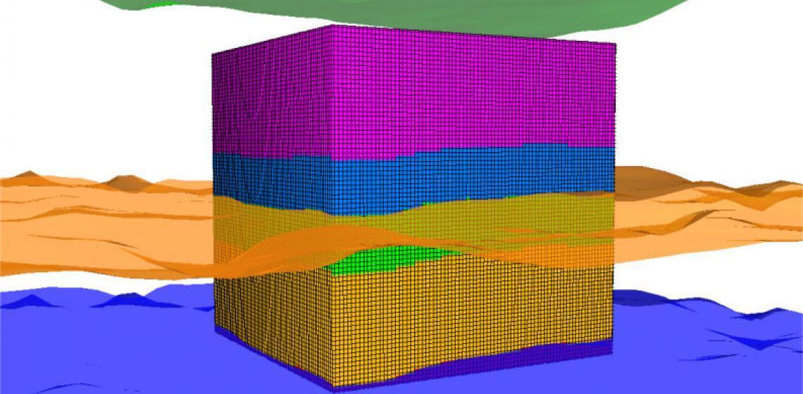 3D Velocity Model image