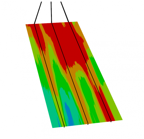 Thermally induced stress modelling